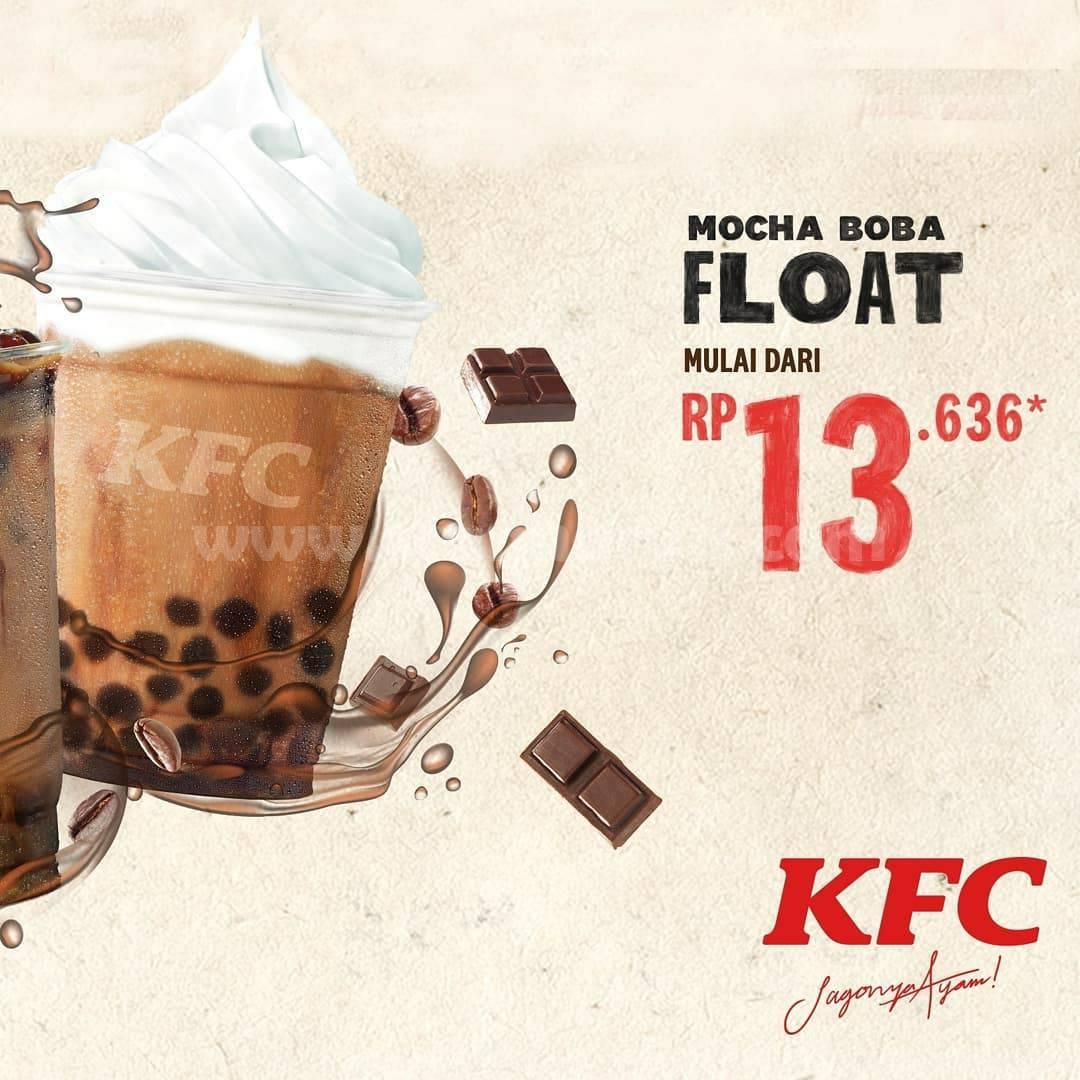 KFC Promo MOCHA BOBA & Mocha Boba FLOAT! Harga mulai dari Rp. 10.909 2