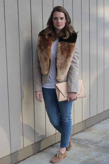 How to wear a fur stole- Pardon My French