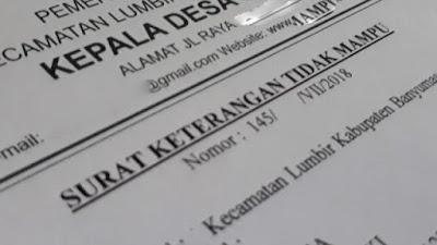 Syarat dan Cara Membuat Surat Keterangan Tidak Mampu