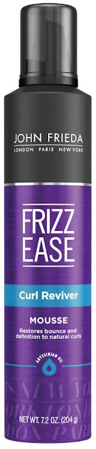 John Frieda Frizz Ease Curl Reviver & Volumizing Mousse Frizzy Hair