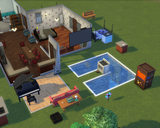The sims 4 | Half House