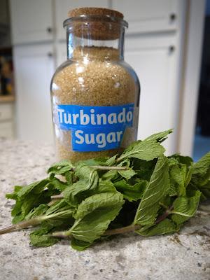 sugar and mint