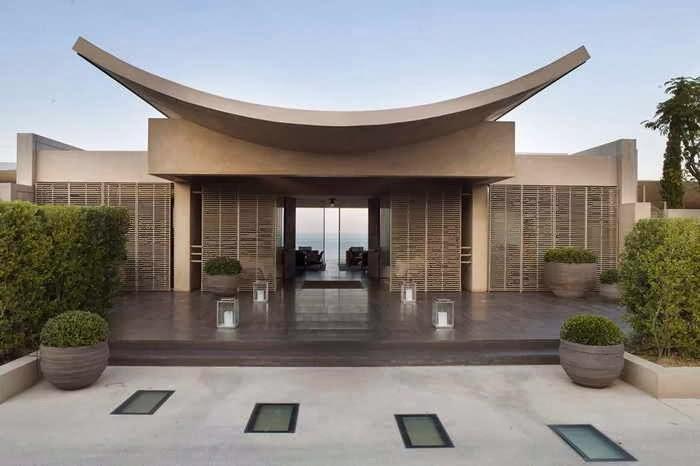 Decoracion actual de moda fachadas de casas modernas for Fachadas modernas para casas de campo