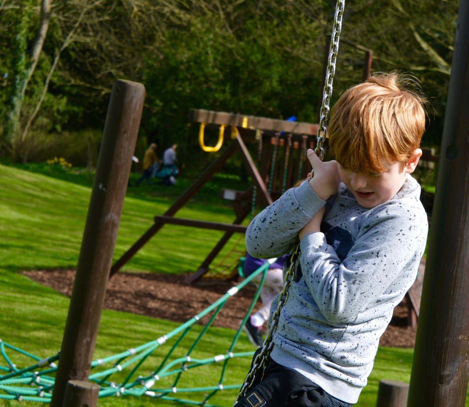 Sunday Lunch, Playgrounds & Birds of Prey at Walworth Castle, Darlington  - adventure playground