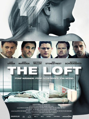 The Loft 2014 ORG English UNRATED Erotic Thriller Movie BluRay 480p 200MB ESubs poster