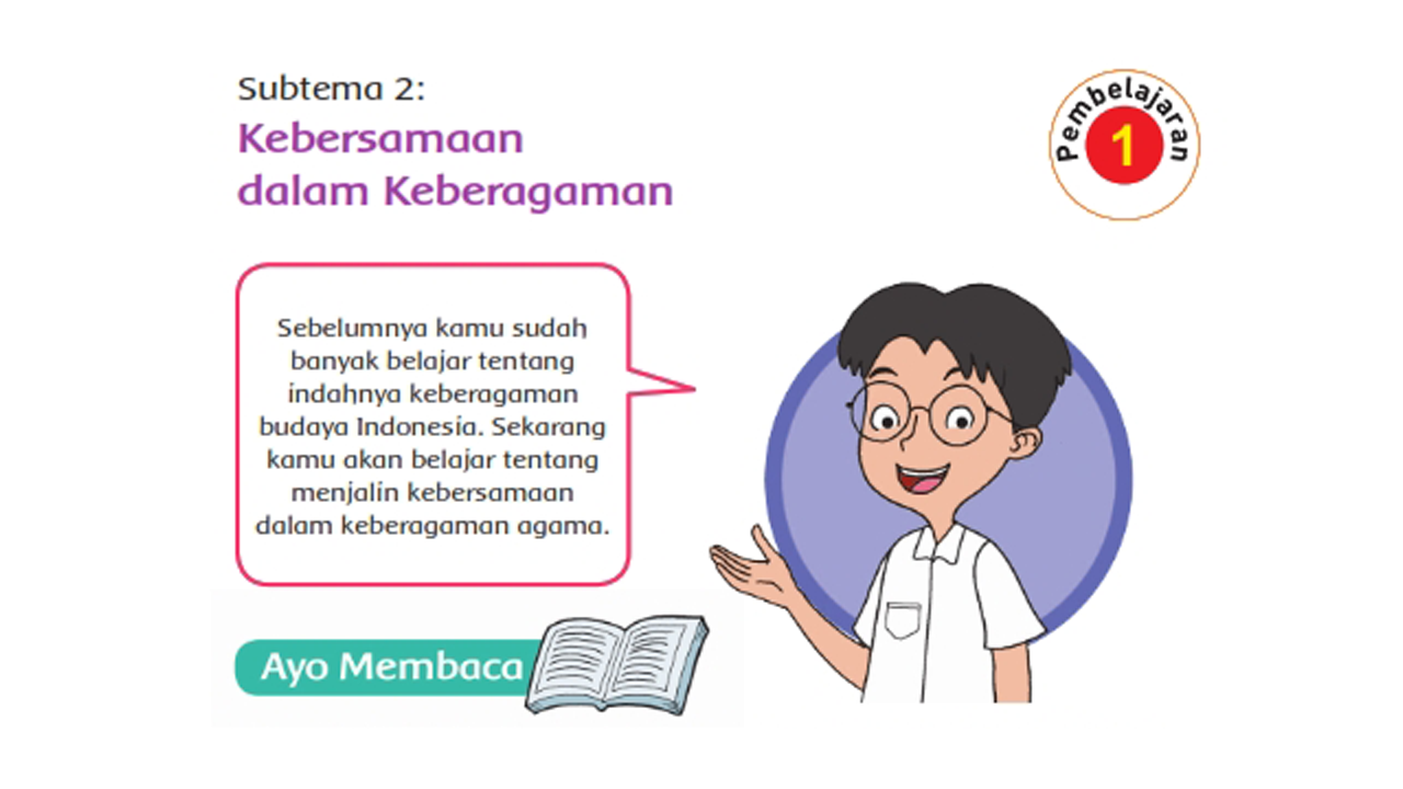 Kunci Jawaban Kelas 4 Tematik Tema 1 Subtema 2 Pembelajaran 1