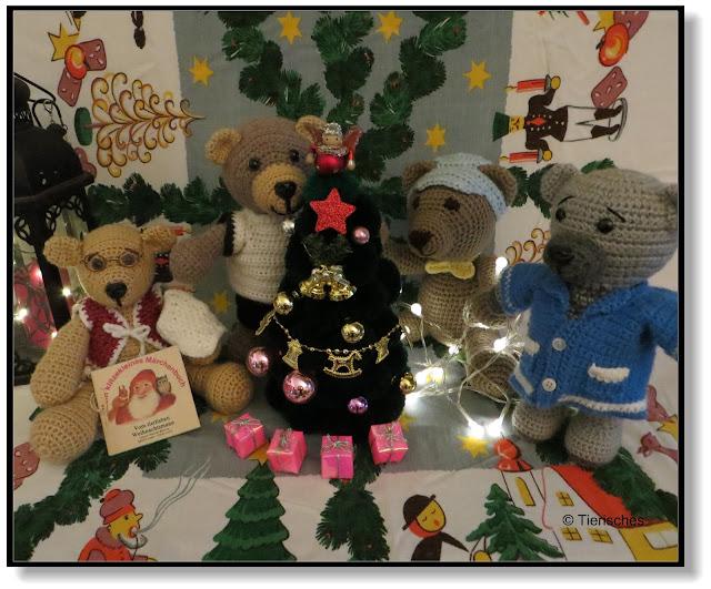 Weihnachten bei den Bärenkindern