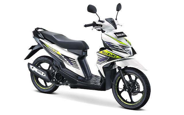 Suzuki Nex II , Skutik Low Entry Terbaru Andalan Suzuki Indonesia