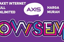 Paket Internet Axis Unlimited Bulanan Rp 40000