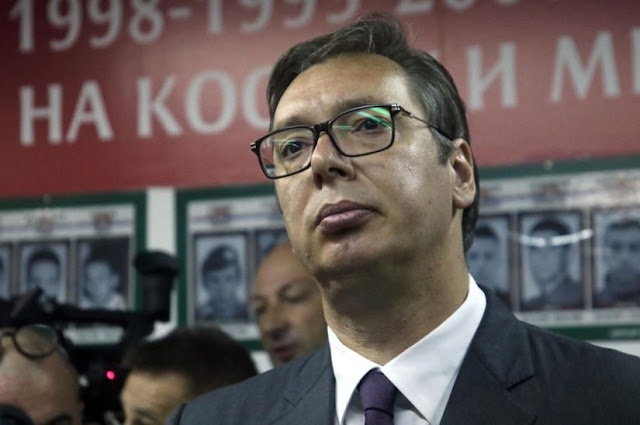 Vucic says Serbia will face pressions relating Kosovo