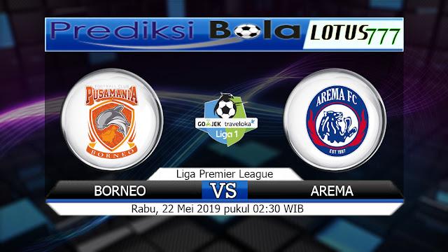 Pada hari Rabu, 22 Mei 2019 pukul 20:30 waktu indonesia barat akan di adakan laga pertandingan Liga 1 Indonesia antara Borneo vs Arema. Pertandingan ini nantinya akan di laksanakan di Stadion Segiri.   Borneo mendapat kesempatan untuk menjadi tuan rumah pada pertandingan kali ini. Di pertemuan terakhirnya pada tanggal 15 Mei 2019, Borneo bermain imbang dengan Bhayangkara dengan skor akhir 1 – 1. Dari catatan 5 pertandingan terakhir, Borneo bermain dengan sangat buruk dengan catatan 1 kali menang, 3 kali kalah dan 1 kali bermain imbang.   Untuk pertandingan kali ini seharusnya Borneo sudah menyiapkan strategi tim yang handal agar bisa membawa pulang kemenangan, serta bisa mengamankan 3 poin dalam pertandingan kali ini agar bisa meraih posisi yang aman dan terhindar dari deglarasi.   Arema yang akan bertanding ke markas Borneo tidak akan gentar dalam pertandingan kali ini. Di pertandingan sebelumnya pada tanggal 15 Mei 2019, tim ini berhasil dikalahkan oleh PSS Sleman dengan skor akhir 3 – 1. Jika di lihat dari 5 pertandingan terakhir Arema cukup bagus dengan catatan 3 kali menang, 1 kali kalah dan 1 kali bermain imbang.     Hasil ini tentunya akan membuat Arema lebih semangat lagi untuk menghadapi Borneo. Untuk pertandingan kali ini seharusnya Arema juga sudah mempersiapkan strategi yang bagus untuk memenangkan pertandingan agar bisa merebut 3 poin dari markas Borneo.   Head to Head Borneo vs Arema    25/02/18 Arema 1 – 2 Borneo  11/11/17 Borneo 3 – 2 Arema  30/07/17 Arema 0 – 0 Borneo  12/03/17 Borneo 1 – 5 Arema  11/12/16 Borneo 2 – 2 Arema     5 Pertandingan Terakhir Borneo     15/05/19 Borneo 1 – 1 Bhayangkara  04/05/19 Persib 3 – 2 Borneo  24/04/19 Borneo 2 – 1 Persib  15/03/19 Madura United 1 – 0 Borneo  08/03/19 Borneo 0 – 2 PSS Sleman     5 Pertandingan Terakhir Arema     15/05/19 PSS Sleman 3 – 1 Arema  12/04/19 Arema 2 – 0 Persebaya  09/04/19 Persebaya 2 – 2 Arema  05/04/19 Kalteng Putra 0 – 3 Arema  02/04/19 Arema 3 – 0 Kalteng Putra     Prediksi Susunan P