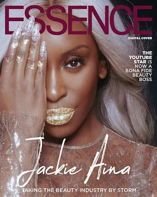 Jackie Aina Essence Magazine cover