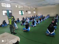 TNI Masuk Sekolah,  Beri Materi Wasbang