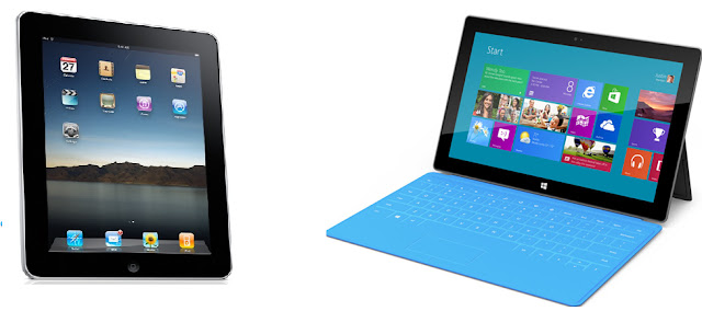 tabla surface - surface microsoft - ipad - surface de windows - imagen de la surface - surface imagen surface image, ipad y surface juntos, surface y ipad juntos