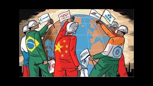 charge globalização
