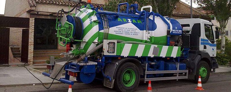 limpiezas camiones cuba Las Rozas