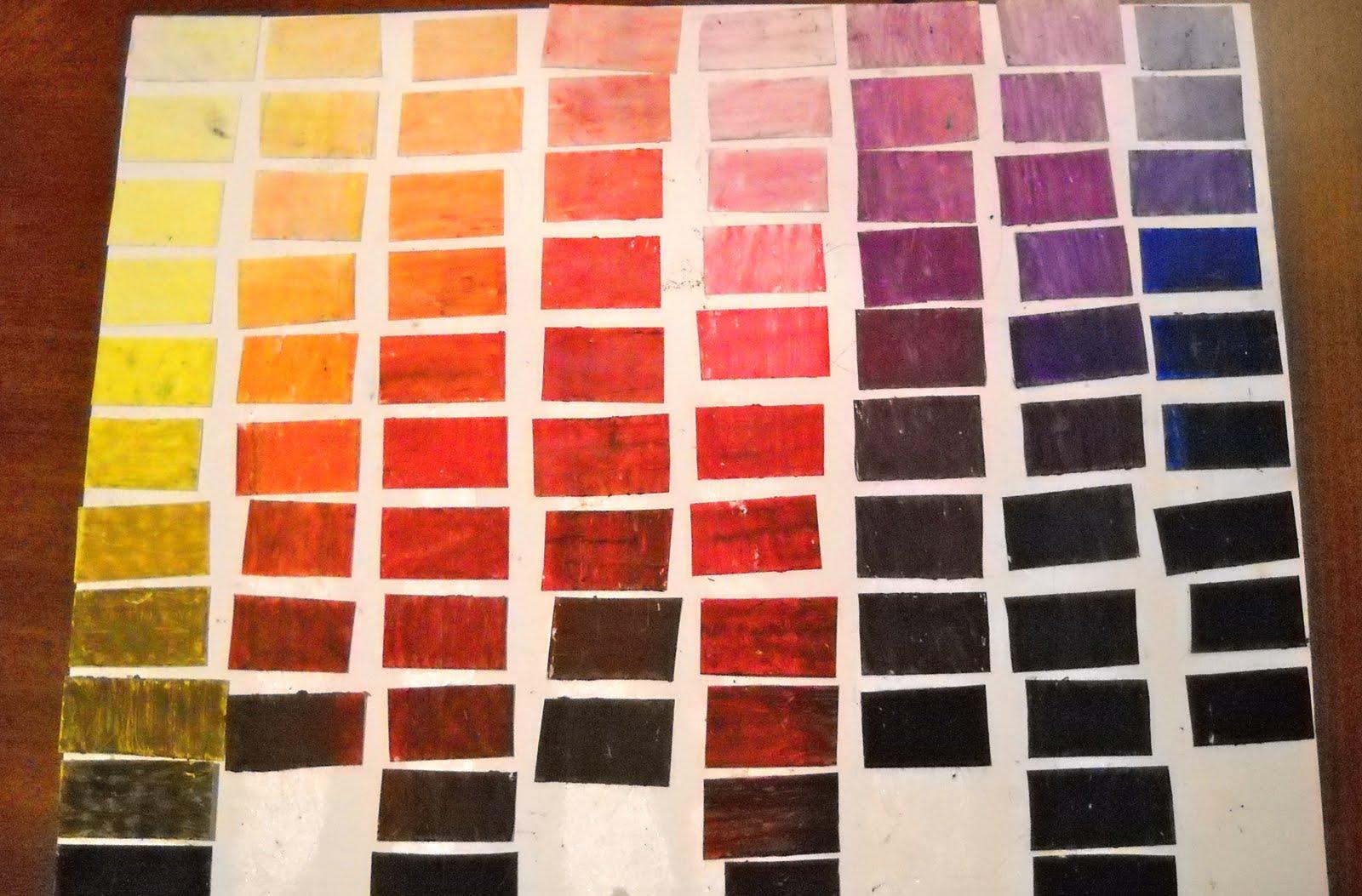 Kristen S Art Class Blog Color Value Chart