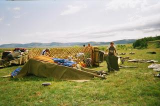 jurtta, Mongolia
