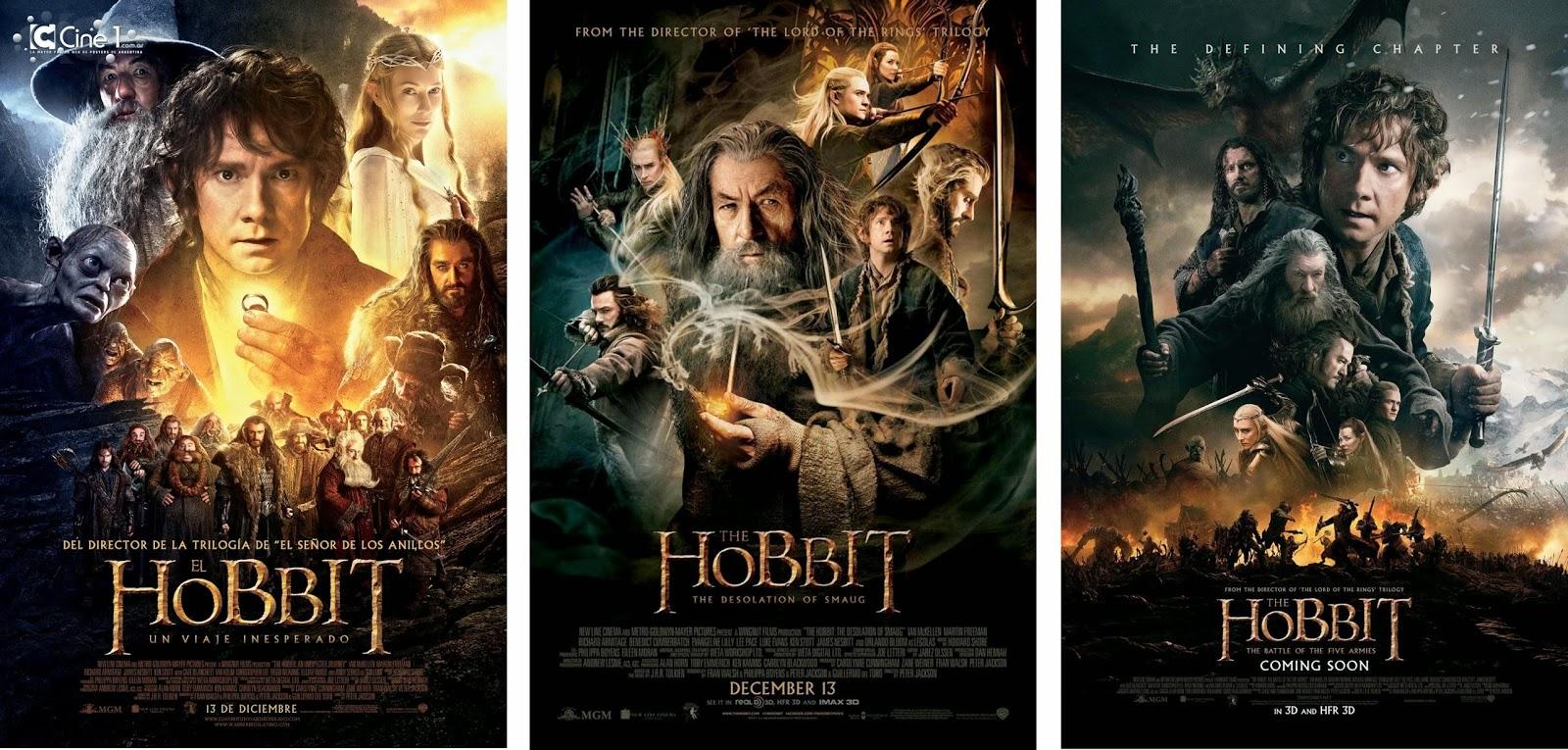 El caminante de libros: Reseña El Hobbit : las películas.