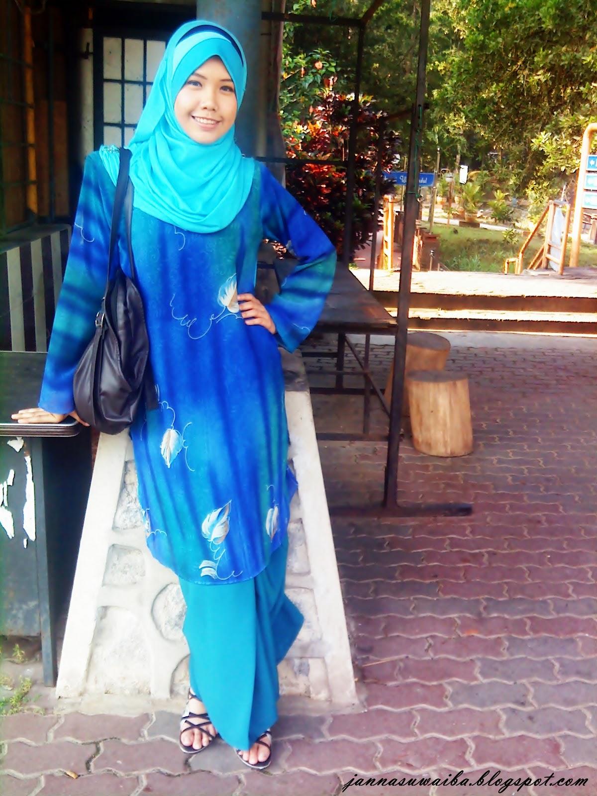 image Malay baju kurung ghairah