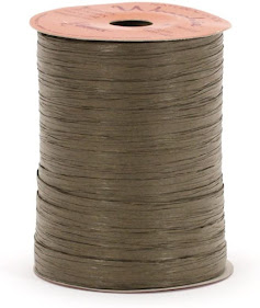 Best Brown Raffia Ribbon For Gift Wrap Craft Packaging and Decoration