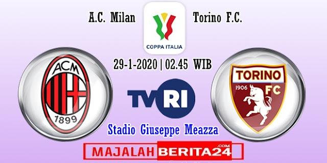 Prediksi AC Milan vs Torino — 29 Januari 2020