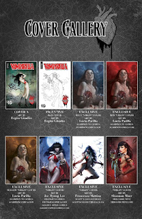 Vampriella: Valentine's Day Special #1 cover gallery page 1