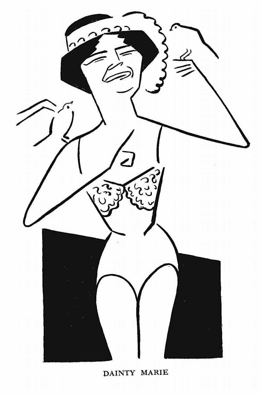 a 1915 Vaudeville performer, Dainty Marie