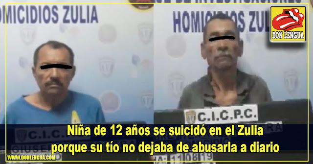 Niña de 12 años se suicidó en el Zulia porque su tío no dejaba de abusarla a diario