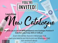 Launching Katalog Baru No. 19 dan Produk Baru FM World Indonesia, 4 Juli 2020 via Zoom Meeting