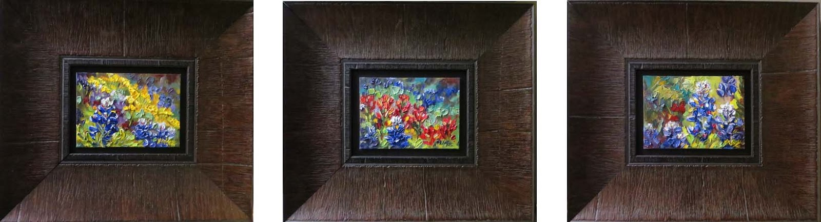 Niki Gulley » Texas wildflower oil painting