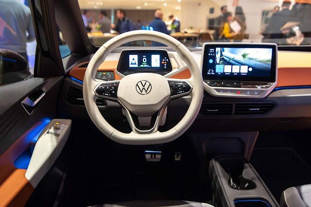 Volkswagen ID.3 será vendido em 3 versões de acabamento