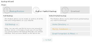 Backup database wordpress