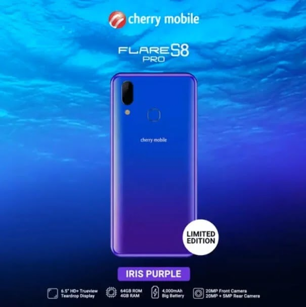 Cherry Mobile Flare S8 Pro To Be Available In Limited Edition Iris Purple Color