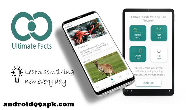 تطبيق Ultimate Facts v3.4.1 كامل بحجم 36 ميجابايت للأندرويد