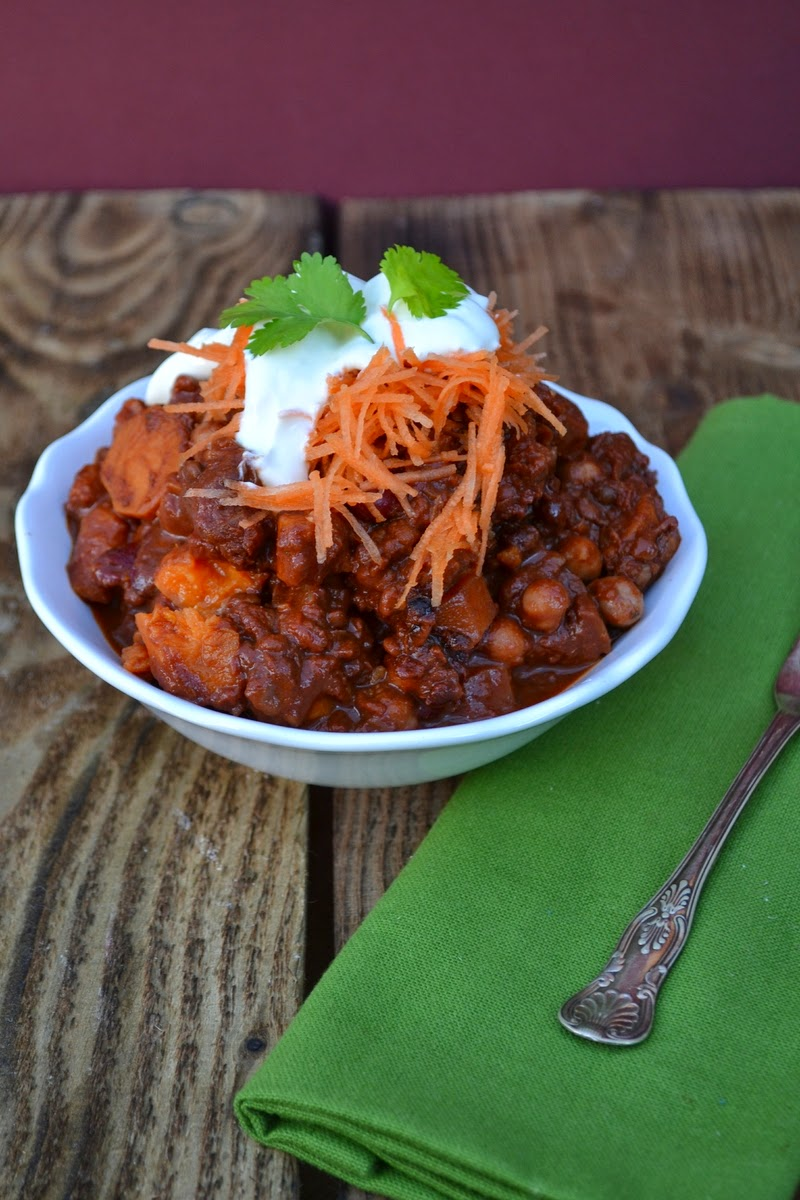 Mexican Sweet Potato Chilli