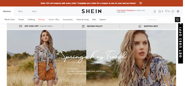 online stores for women`s clothing