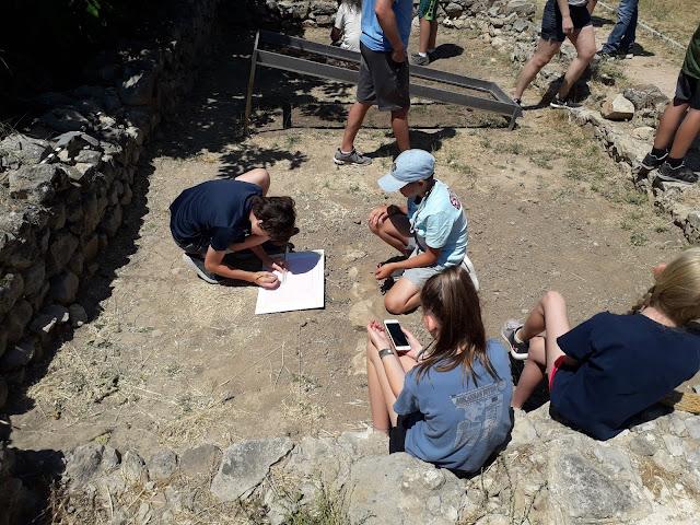 Εκπαιδευτικό πρόγραμμα ανασκαφής στην Αρχαία Ασίνη