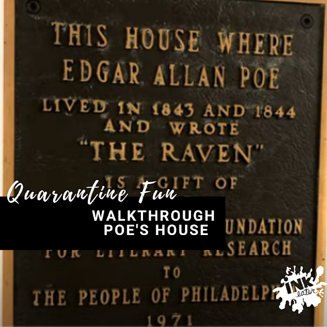Walk through Edgar Alan Poe's House! - THINGS TO DO FROM HOME!