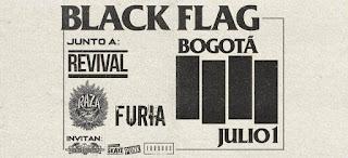 Concierto de BLACK FLAG en Bogotá 2019