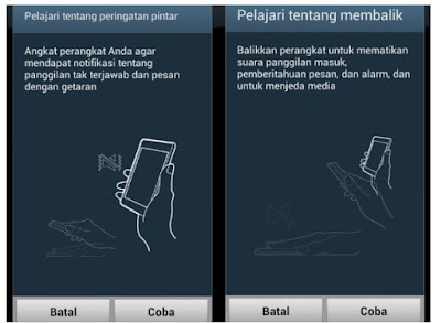 Cara Atur Sistem Gerakan di Android Samsung