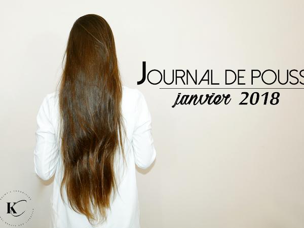 JOURNAL DE POUSSE ET DE SOINS | JANVIER 2018