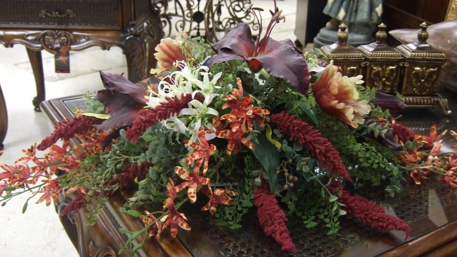 Ana silk flowers large artificial flower arrangements for How to make artificial flower arrangements