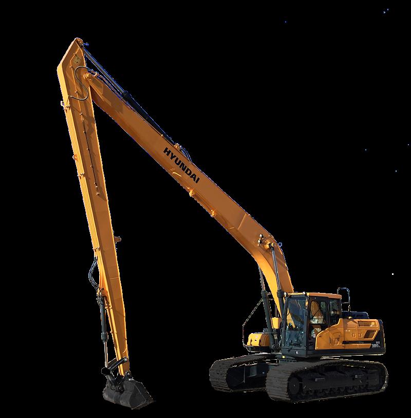 Hyundai Excavators HX300LR