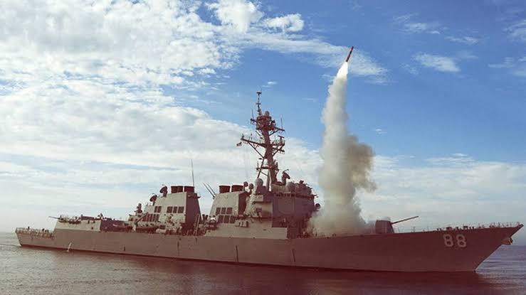 Irán dispara misiles antibuque de largo alcance en el Océano Índico
