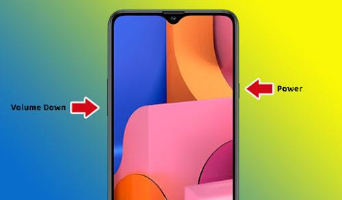 Cara Screenshot Samsung Galaxy A20s