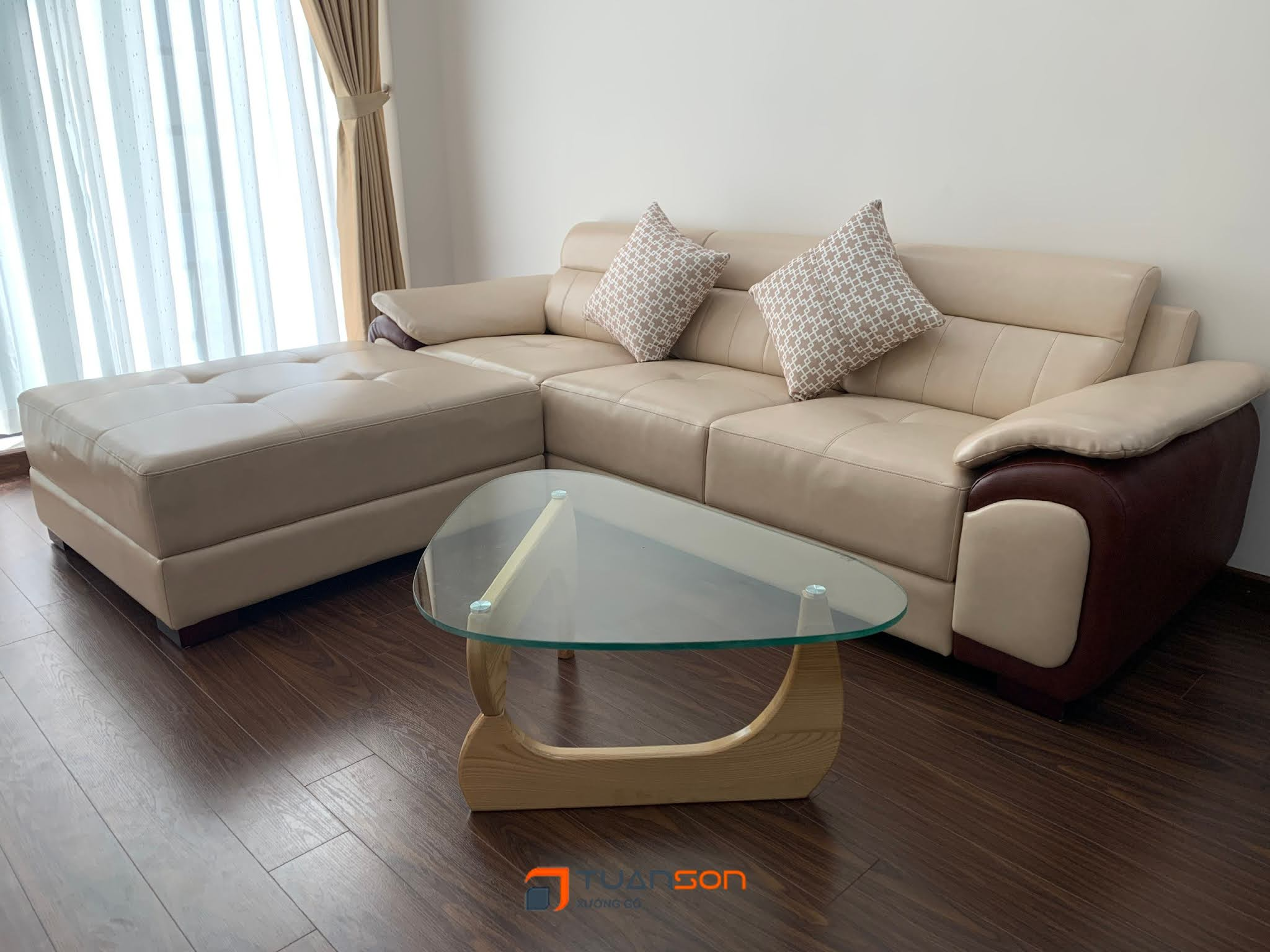 Bàn giao công trình nội thất căn 3 phòng ngủ (78m2) Bea Sky Nguyễn Xiển