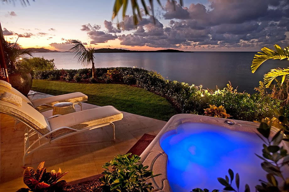 Caribbean Relaxation: Luxury Life Design: Island Views, Caribbean Villa