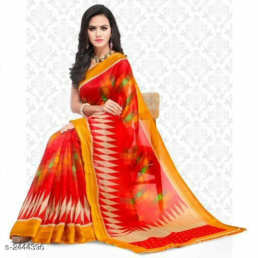 Stylish Bhagalpuri Silk Women's Saree