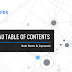 Create a Tableau Table of Contents (and make it Dynamic too!)